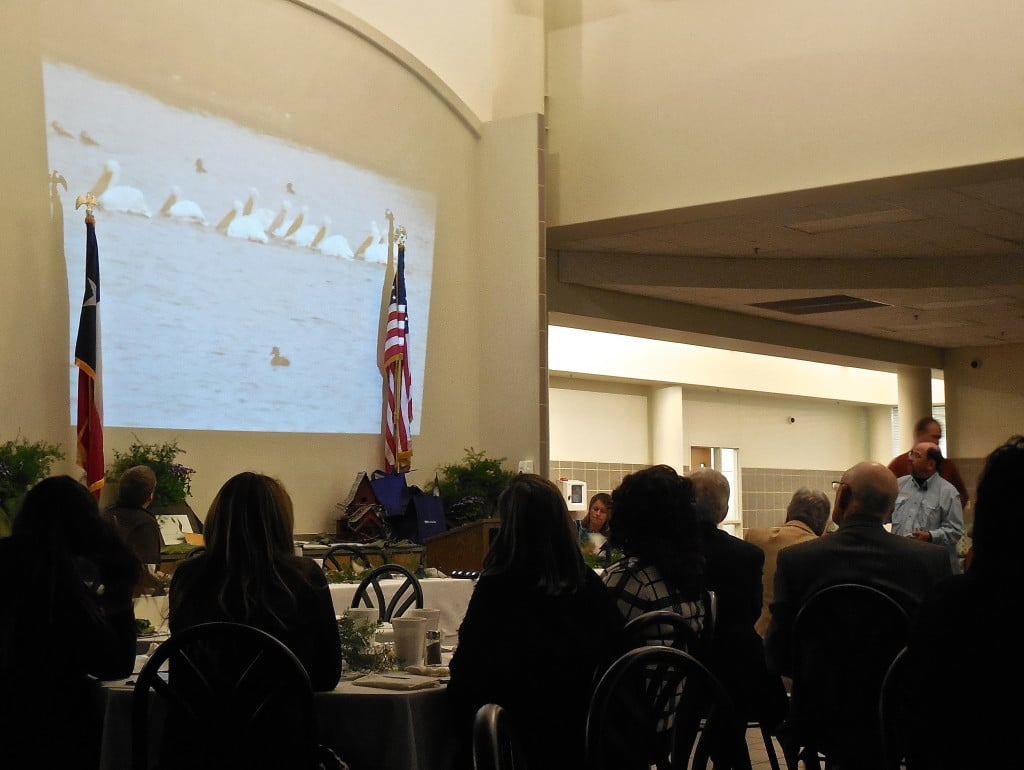 Bishop Chamber banquet features birding talk, civic awards